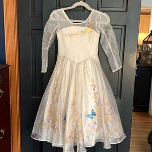 Disney beautiful princess gown dress girls 7/8